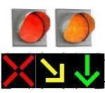 Транспортные Т.5, Т.6, Т.7, Т.10 и реверсивные Т.4 светофоры