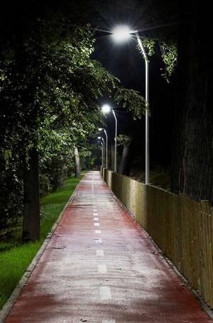 Расположение фонарей на оптимальном удалении