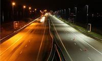 Новая дорога со светодиодными светильниками!