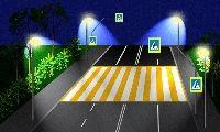 Новые безопасные пешеходные переходы.