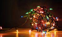Светодиодная гирлянда или Новый Год своими руками!