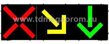 Светофор реверсивный светодиодный Т.4.ж  (арт.78-907)