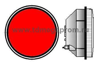 Модуль светодиодный светофорный 300мм, красный  (арт.78-936)