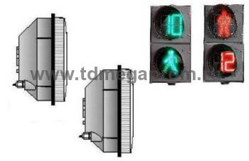 Комплект модулей 200мм для пешеходного светофора (ТООВ разрешающего и запрещающего сигнала) (арт.78-934)