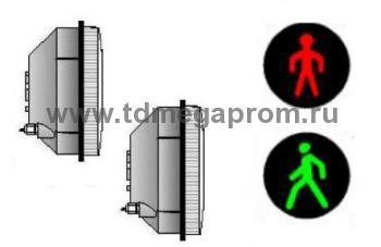 Комплект модулей 200мм для пешеходного светофора П.1.1  (арт.78-933)