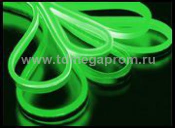 Гибкий неон  LED Neon Flex  LN(В)-FX-50M-220V-G   (арт.30-2716)