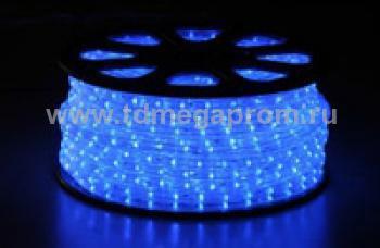 Дюралайт круглый фиксинг  LED-XD-2W-100-240V-B    Повышенной яркости!  (арт.30-2798)