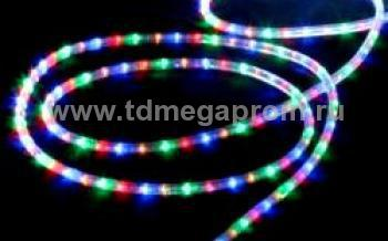 Дюралайт плоский фиксинг  LED-XF-2W-100-240V-RGBY    Повышенной яркости! (арт.30-2723)