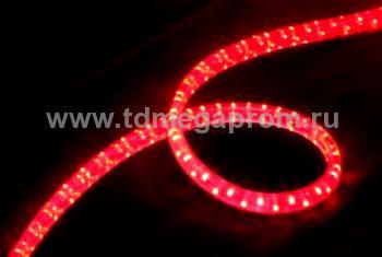 Дюралайт плоский чейзинг  LED-XF-3W-100-240V-R    Повышенной яркости! (арт.30-3268)