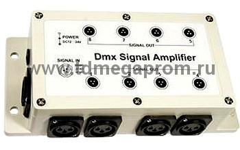 DMX усилитель 8 каналов (TDM-012238)   (арт.50-3174)