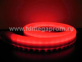 Гибкий неон  LED Neon Flex  LN(H)-FX-50M-220V-R    (арт.32-2605)
