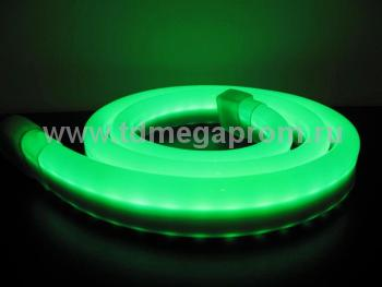 Гибкий неон  LED Neon Flex  LN(H)-FX-50M-220V-G   (арт.30-3895)
