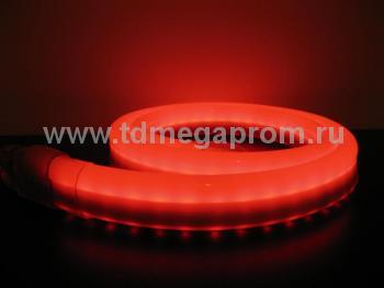 Гибкий неон  LED Neon Flex  LN(H)-FX-50M-24V-R   (арт.32-2607)