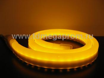 Гибкий неон  LED Neon Flex  LN(H)-FX-50M-24V-Y   (арт.32-4633)