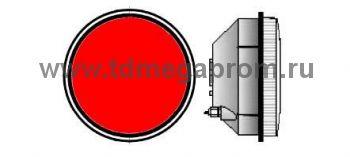 Модуль светодиодный светофорный 200мм, красный  (арт.78-2494)