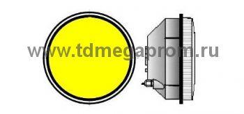 Модуль светодиодный светофорный 200мм, желтый  (арт.78-2492)