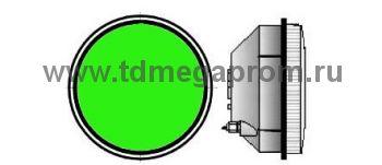 Модуль светодиодный светофорный 200мм, зеленый  (арт.78-2493)