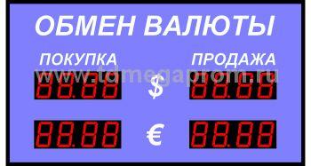 Табло курсов валютР-58-2