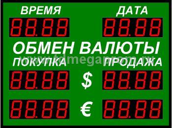 Табло курсов валютР-100-2-Д