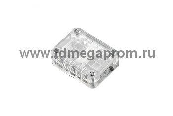 Промежуточный коннектор для LED-XF-2W (плоского двух проводного дюралайта фиксинга)  (арт.30-4014)