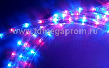 Дюралайт круглый чейзинг  LED-XD-3W-100-240V-RB    Повышенной яркости! (арт.30-4227)
