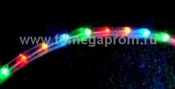 Дюралайт круглый чейзинг  LED-XD-3W-100-240V-RGBY    Повышенной яркости! (арт.30-2675)