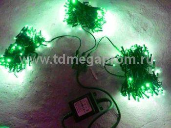 Гирлянда светодиодная  LED-BS-20х3-24V-G    (арт.30-3122)