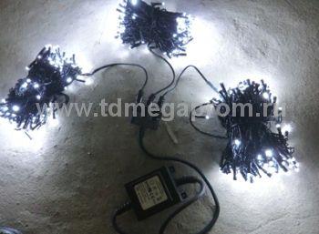 Гирлянда светодиодная  LED-BS-20х3-24V-W    (арт.30-3121)