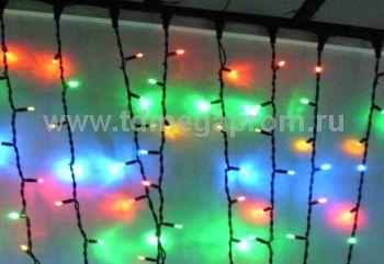 Плей-лайт светодиодный  с контроллером  LED-SKC-2M/3M-220V-RGBY-C     (арт.99-4057)