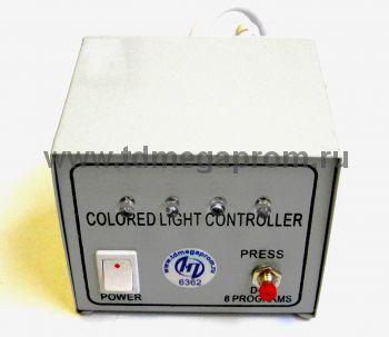Контроллер для круглого 5-х проводного дюралайта на 100 метров  (арт.30-4236)