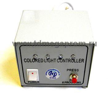 Контроллер для плоского 5-х проводного дюралайта на 50 метров  (арт.30-3096)