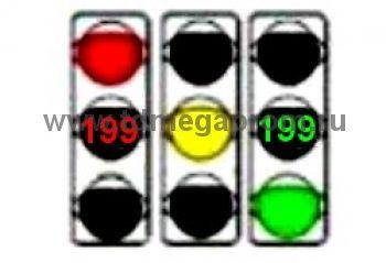 Светофор транспортный светодиодный Т.1.2 c ТООВ-199 300мм  (арт.78-4319)