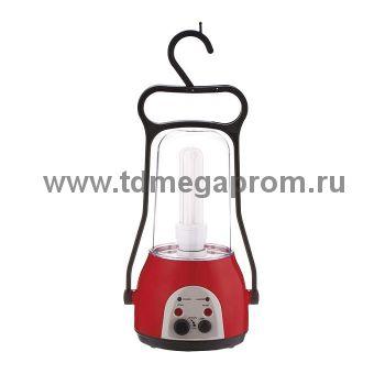 Ламповый аккумуляторный фонарь  ЭЛАФ-2 радио  (арт.30-4386)