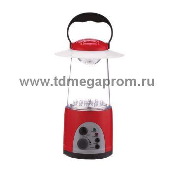 Светодиодный аккумуляторный фонарь САФ-11 радио  (арт.30-4384)