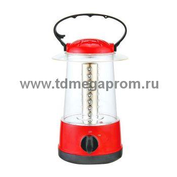 Светодиодный аккумуляторный фонарь САФ-9  (арт.30-4382)