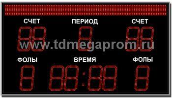 Табло спортивное универсальное ТС-У-10  (арт.03)