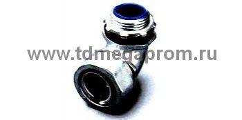 Муфтавводная угловая РКН(90) для металлорукава, наружная резьба (арт.09)