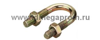 Хомутик стальной для труб С437-С442 (арт.09)