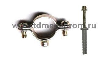 Хомут стальной для труб 580ХХ (арт.09)