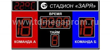 Табло для футбола ТС-Ф-14 (арт.03)