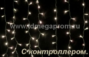 Плей-лайт светодиодный с контроллером  LED-SKC-2M/1.5M-220V-WW-C     (арт.99-4579)