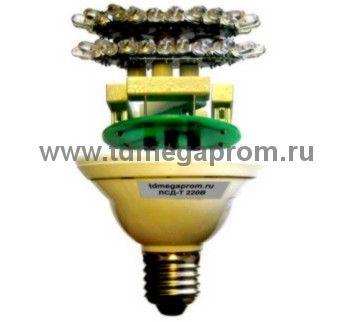 Светодиодная лампа ЛСД-Т с подогревомдля ЗОМ с антиоблединением  (арт.01-4650)