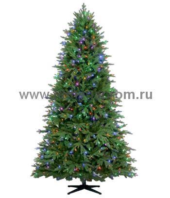 Ель новогодняя  CT13-018   белый+мульти!    (арт.34-4700)