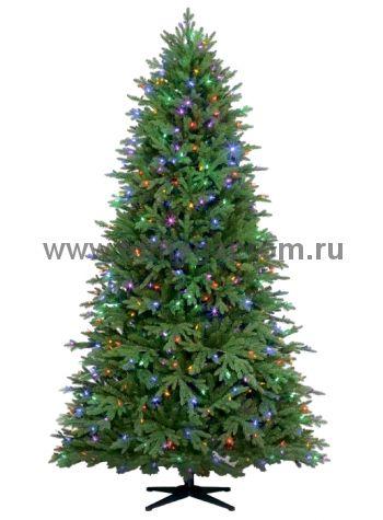 Ель новогодняя  CT13-019   белый+мульти!    (арт.34-5669)