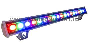 Прожектор светодиодный линейный СДУ-L600RGB   СДУ-26    (арт.30-7832)