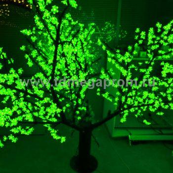 """Светодиодное дерево """"Сакура"""" LED-CBL-1.7-1728-G  (арт.30-5625)"""
