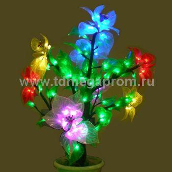"""Светодиодное дерево """"Магнолия в горшке""""  LED-IMD-014 (арт.30)"""
