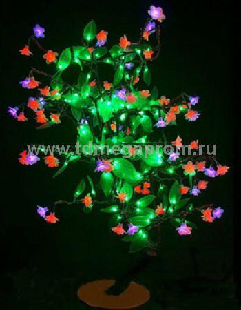 "Светодиодное дерево ""Сакура с зелеными листьями""  LED-CBL-Table(NEW)-RP       (арт.30-4691)"