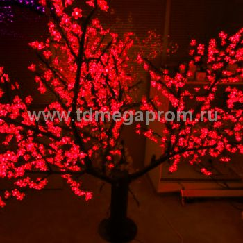 """Светодиодное дерево """"Сакура""""  LED-CBL-1.7-1728-R (арт.30)"""
