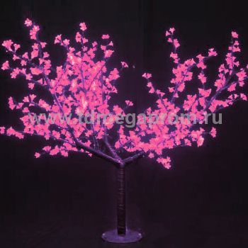 """Светодиодное дерево """"Сакура""""  LED-CBL-2.5-1728-P  (арт.30-7868)"""